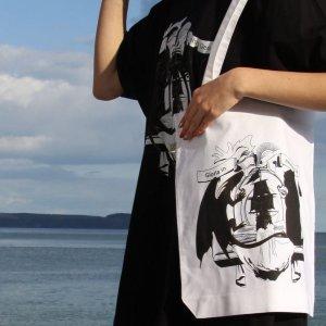 Tallship Adventures Book Bag (white)