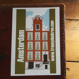 Amsterdam Canal House sticker