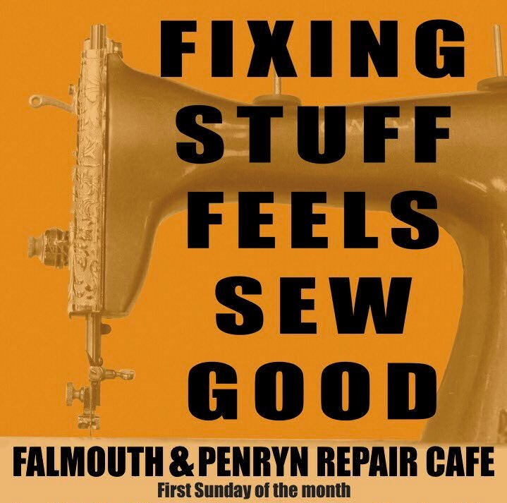 Falmouth Repair Cafe poster