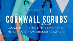 NHS Scrubs and Masks