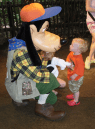 Meeting Goofy at Animal Kingdom