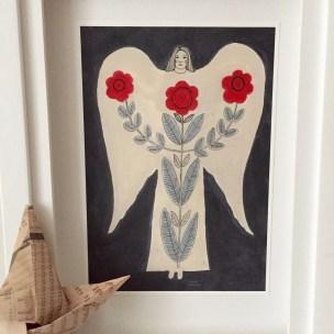 Folk Angel by TJohnston