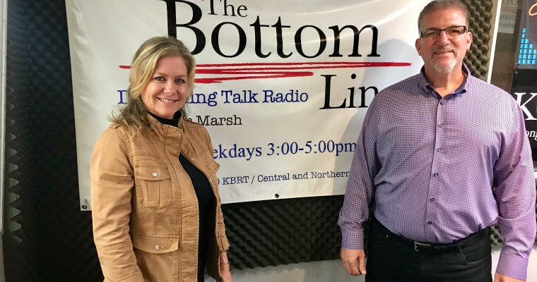On the Radio- Going Live with The Bottom Line