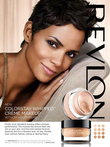 Revlon Colorstay Whipped Foundation : revlon, colorstay, whipped, foundation, Halle, Berry, Endorsements., Closer, Fragrance, Beyond, Celebrity
