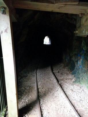 Creepy mining tunnel