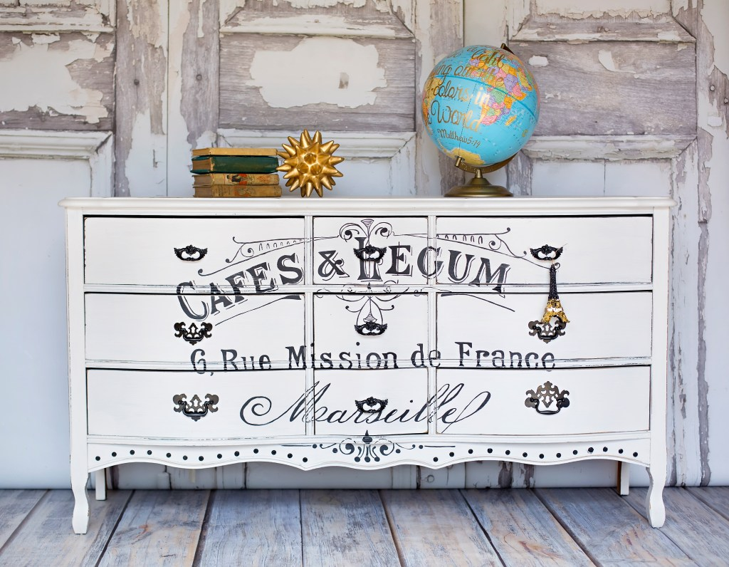 French Stenciled Furniture