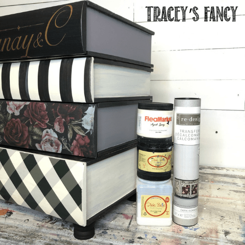 Whimsical Book Table by Traceys Fancy