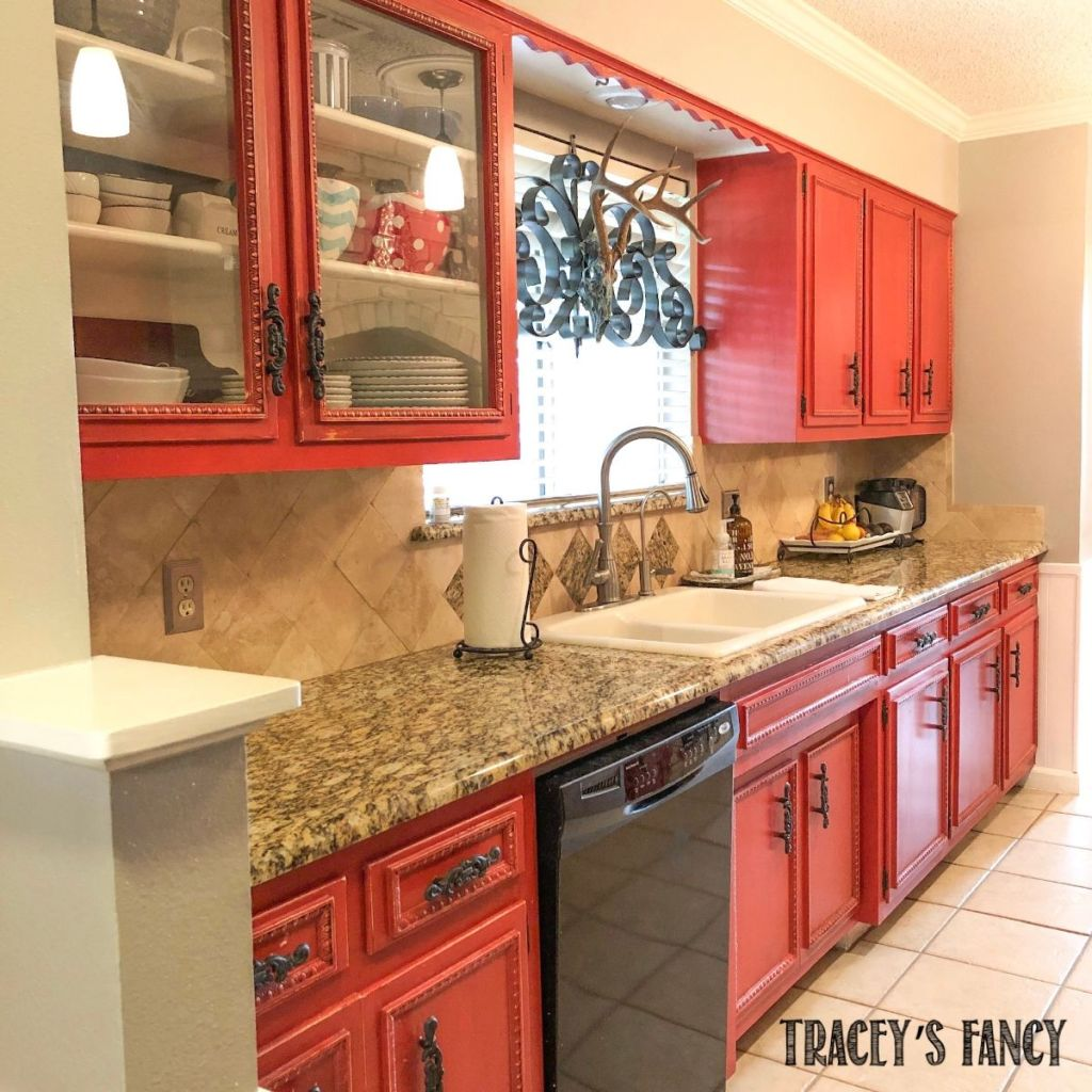 Painting Kitchen Cabinets With Chalk Paint Tracey S Fancy