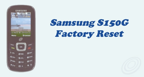 How to Factory Reset / Hard Reset Tracfone Samsung SGH-S150G