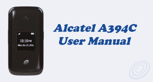 Tracfone Alcatel A394C User Manual Guide