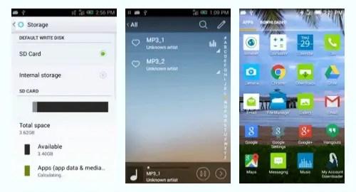 Tracfone Alcatel Pixi Eclipse Screenshot