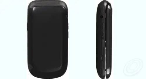 Tracfone LG 237C back side