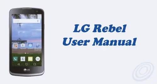Tracfone LG Rebel LTE L44VL User Manual (Updated)