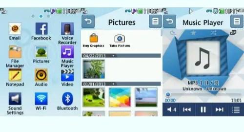 Tracfone LG 306G screenshot