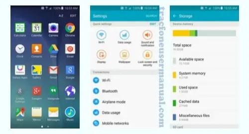 Tracfone Samsung Galaxy E5 S978L Screenshot
