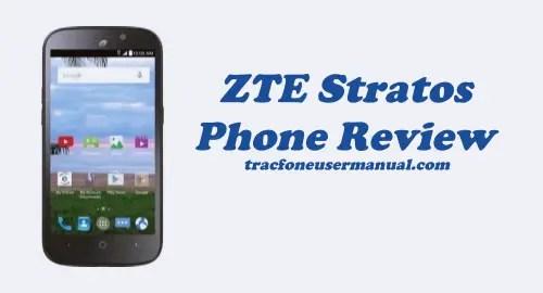 Trafone ZTE Stratos Z819L Review