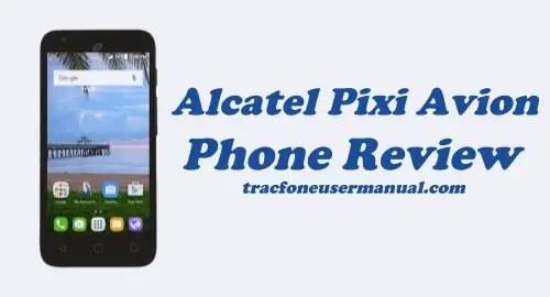 TracFone Alcatel Pixi Avion A570BL / A571VL