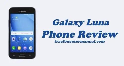 TracFone Samsung Galaxy Luna S120VL Review