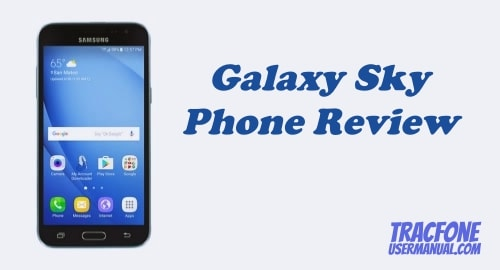 TracFone Samsung Galaxy Sky S320VL Review