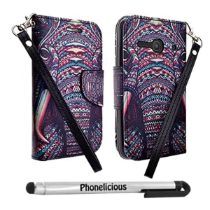 Alcatel Pixi Pulsar Wallet Case by Phonelicious