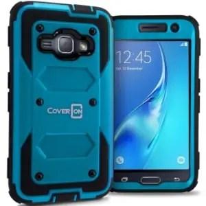 Samsung Galaxy Luna Hybrid Hard Armor Case by CoverON