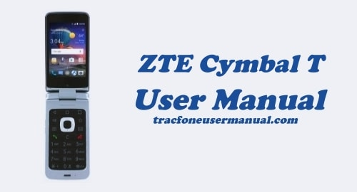 TracFone ZTE Cymbal-T LTE Z353VL User Manual