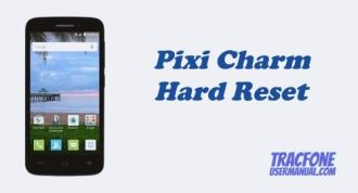 How to Hard Reset Tracfone Alcatel Pixi Charm A450TL