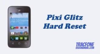 Hard Reset TracFone Alcatel Pixi Glitz