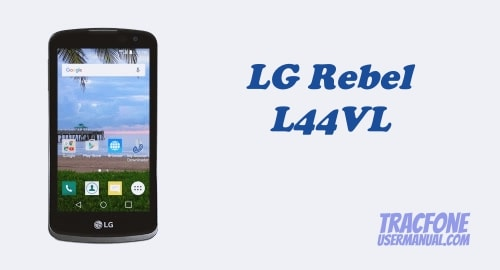 How to Boot Into Recovery Mode on TracFone LG Rebel LTE