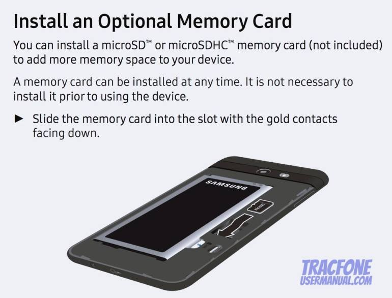 Samsung Galaxy J7 Sky Pro User Manual (TracFone)