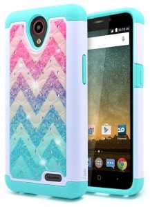 ZTE ZFive 2 Hybrid Protective Case by NageBee