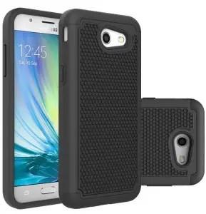 Samsung Galaxy J3 Luna Pro Hybrid Defender Case by Asmart