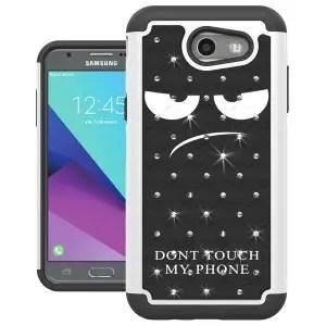 Samsung Galaxy J3 Luna Pro Shock Absorption Case by UrSpeedtekLive
