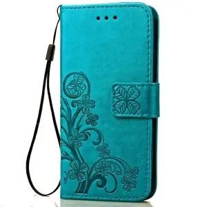 Samsung Galaxy J3 Luna Pro Wallet Flip Case by Rockxdays