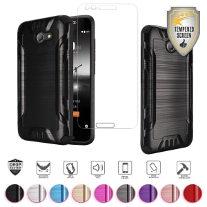 Alcatel ZIP Metallic Brushed Case by MyFavCell
