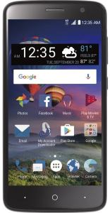 TracFone ZTE ZMAX ONE front view