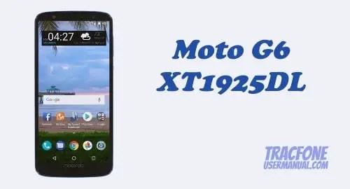 TracFone Motorola Moto G6