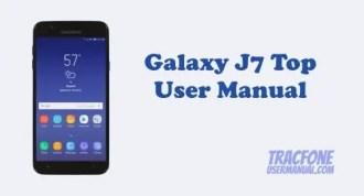 Samsung Galaxy J7 Top User Manual (TracFone)