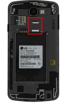 How to Insert SIM Card in LG Rebel LTE