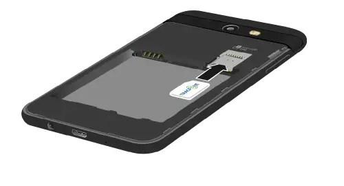 How to Insert SIM Card in Samsung Galaxy J3 Luna Pro