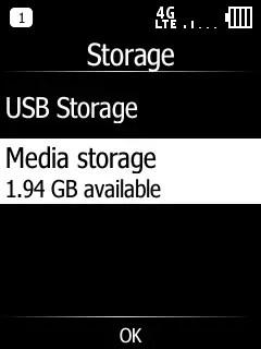 Doro 7050 Storage Available