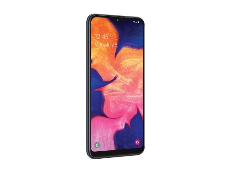 Samsung Galaxy A10e Left Side View
