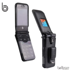 Alcatel MyFlip Fitted Leather Case by BELTRON