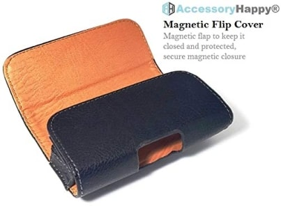Alcatel MyFlip Horizontal Leather Pouch by AccessoryHappy