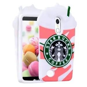 LG Rebel 4 Coffee Pink Case by FunTeens