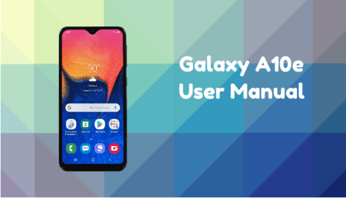 Samsung Galaxy A10e User Manual