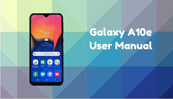 Samsung Galaxy A10e User Manual Tracfone Manual Guide