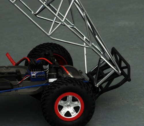 small resolution of  for the slash adding more realism to your truck it even comes with a rear spare tire mounts each chassis is plated with the most advanced industrial