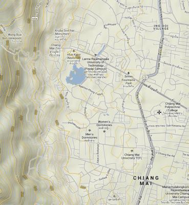 Chiang Mai's Altitude