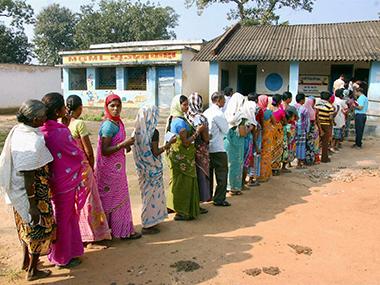 Chhattisgarh-polling-nov13-pti